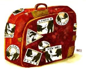 Yo no soy gente, Historias reales., mundo surrealista, La antimaleta, que no llevar en una maleta, viajar sin embarcar maletas, maletas-pesadas2, glamour