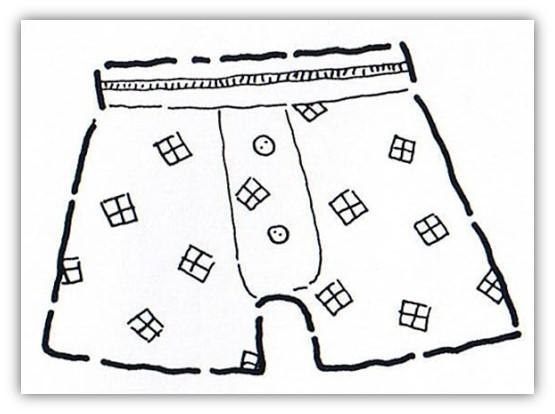 Yonosoygente, Historias reales, mundo surrealista, calzoncillos, interiores masculinos, el boxer