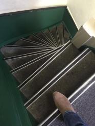 escaleras amsterdam. yonosoygente